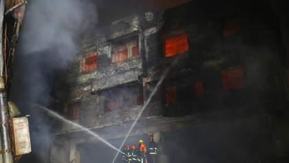 Крупный пожар в Бангладеш: число жертв увеличилось – жуткие фото и видео