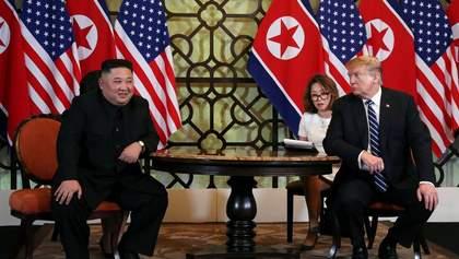 Трамп та Кім Чен Ин не домовились про ядерне роззброєння КНДР