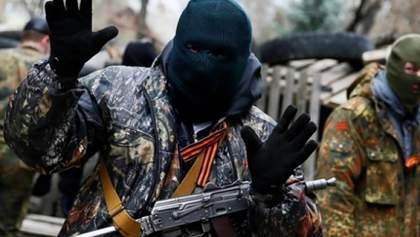Украинские военные точным ударом уничтожили позицию боевиков: видео