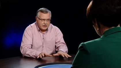 Пройдет ли Гриценко во второй тур после объединения с Садовым: ответ эксперта