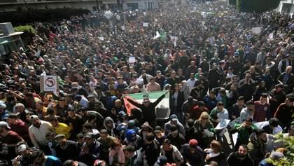Антипрезидентские протесты в Алжире: 183 раненых, 1 погибший