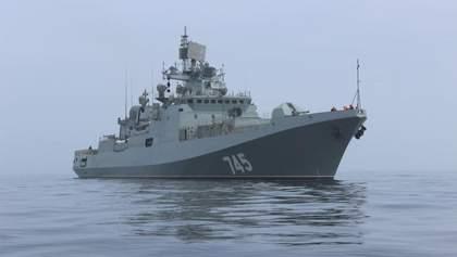 На борту ракетного корабля в оккупированном Крыму погиб военный РФ