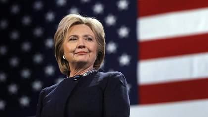 Гілларі Клінтон не братиме участі у виборах президента США в 2020 році