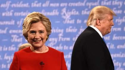 Трамп прокоментував рішення Гілларі Клінтон не балотуватися у президенти США