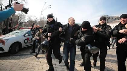 """""""Патриархат!"""" против """"Я – феминистка"""": конфликт на Марше за права женщин в Киеве"""