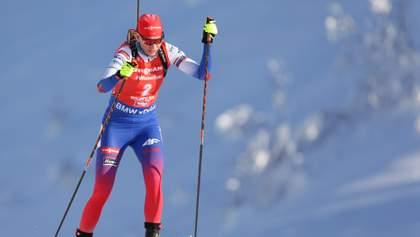 Кузьмина выиграла спринт чемпионата мира по биатлону, украинки за пределами топ-20