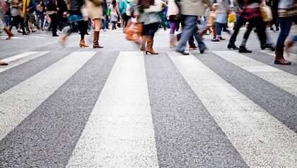 Штрафи для пішоходів в Україні: скільки людей поплатилися за порушення правил