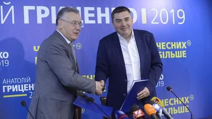 Гриценко и Добродомов подписали меморандум: что он предусматривает