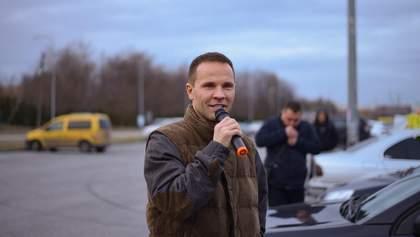 Львовяне поддержали автопробег за 10% растаможки авто, – Юрий Деревянко