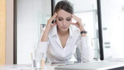 Сім хвороб та проблем, які виникають у жінок через стрес