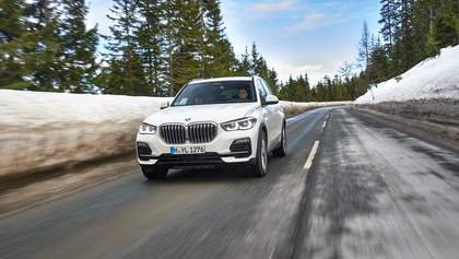 Новый BMW X5: тест-драйв на бездорожье