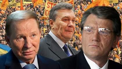 Как украинцы выбирали предыдущих президентов
