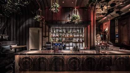 Ресторан в Киеве стал финалистом престижного конкурса дизайна интерьеров: фото