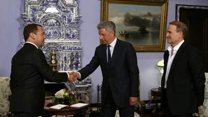 Політ Бойка й Медведчука до Москви: як відреагував кум Путіна