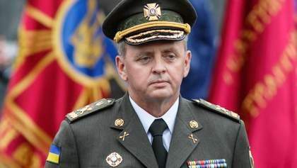 Муженко: Росія може за годину перетворити війну на Донбасі у повномасштабну