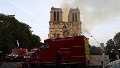Пожежа у Нотр-Дамі: слідчі встановили осередок займання