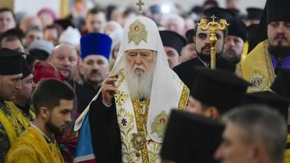 Филарет: Все церкви, и даже русская, признают Православную церковь Украины