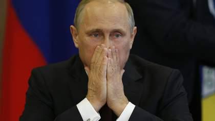 """Снова о языке: Парубий """"придавил язык"""" Путина"""