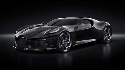 Роналду став власником унікального Bugatti La Voiture Noire за 18 мільйонів доларів: фото