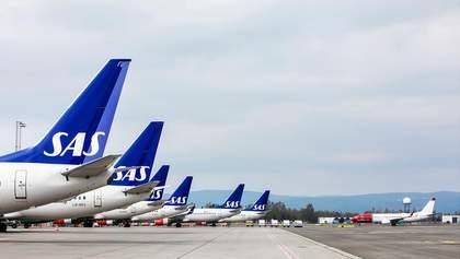 У Скандинавії скасовано понад 700 авіарейсів