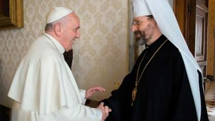 Папа Римський запросив керівництво УГКЦ до Ватикану