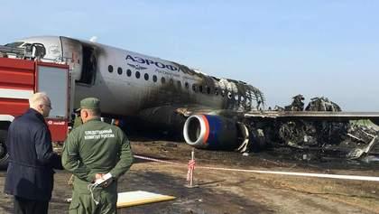 Після авіакатастрофи у РФ скасували виліт ще 3 Superjet через несправність