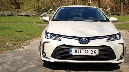 Тест-драйв найпопулярнішого у світі автомобіля Toyota Corolla: фото та відео