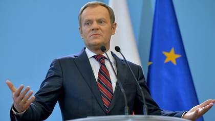 Туск анонсировал экстренный саммит ЕС после выборов в Европарламент
