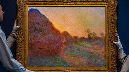 Картину Моне повторно продали на аукционе: теперь в 44 раза дороже