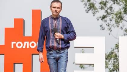 Как вы относитесь к решению Вакарчука баллотироваться в Раду?