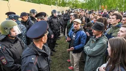 Столкновения в России из-за строительства храма олигархами: фото и видео
