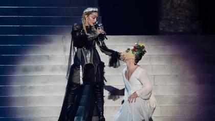 Мадонна спровоцировала громкий скандал своим выступлением на Евровидении-2019