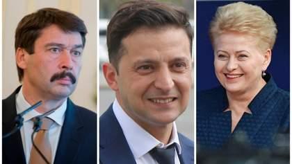 Лидеры Венгрии и Литвы рассказали, что ожидают от президента Зеленского
