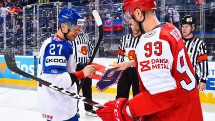 ЧС-2019 з хокею: Латвія  обіграла Норвегію, Словаччина у важкому матчі перемогла Данію (відео)