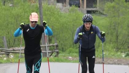 Сборная Украины по биатлону начала подготовку к новому сезону