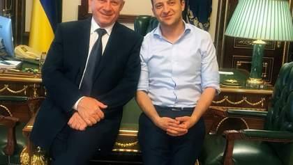 Зеленский встретился с главой НБУ: о чем говорили