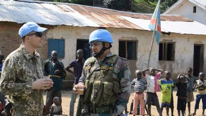 Українські миротворці: яке завдання виконували в Конго