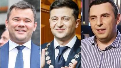 Кому больше всего доверяет Зеленский: топ-2 чиновников