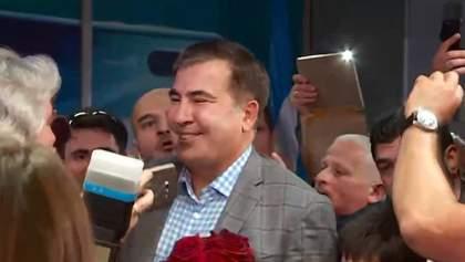 Міхеїл Саакашвілі повернувся в Україну: фото і відео