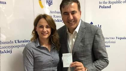 Саакашвілі отримав посвідчення особи на повернення в Україну: фото