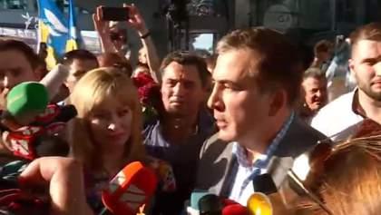Пацан сказав – пацан зробив: Саакашвілі подякував Зеленському за повернення громадянства