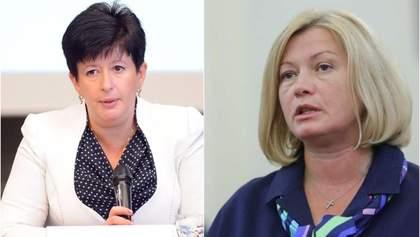 Лутковская возглавила гуманитарную подгруппу на переговорах в Минске: реакция Геращенко