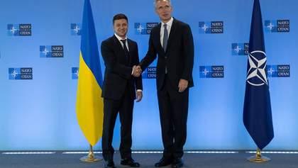 Зеленский встретился со Столтенбергом: текст выступления президента