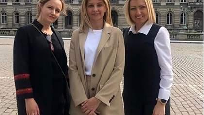 Дружина Зеленського поділилася враженнями про перший візит за кордон в якості першої леді