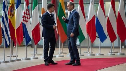 Украина должна продолжать свое движение в ЕС, – Зеленский