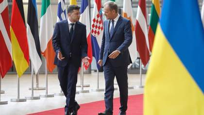 Зеленский и Туск анонсировали саммит Украина – ЕС