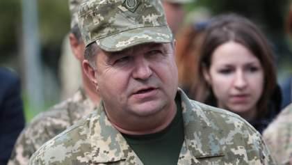 Рада не поддержала отставку министра обороны Полторака
