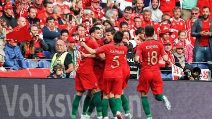 Португалія перемогла у Лізі націй, мінімально обігравши Нідерланди: відео