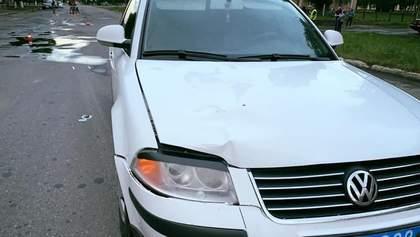 У Конотопі автомобіль начальника поліції збив дитину, водію оголошено про підозру: фото
