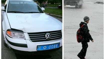 Аварія в Конотопі з авто поліції: дитині довелося видалити селезінку